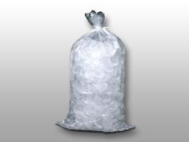 Plain Metallocene Ice Bag 20 Lb W Twist Ties